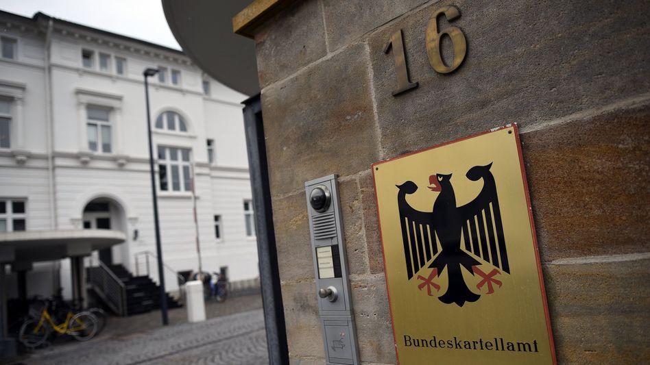 Eingang zum Bundeskartellamt in Bonn (Archiv)