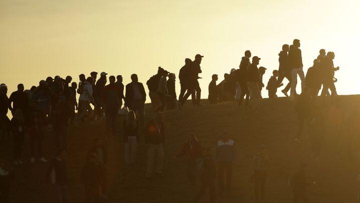 Fans beim Ryder Cup 2018: Bunt, laut und gaaanz nah dran