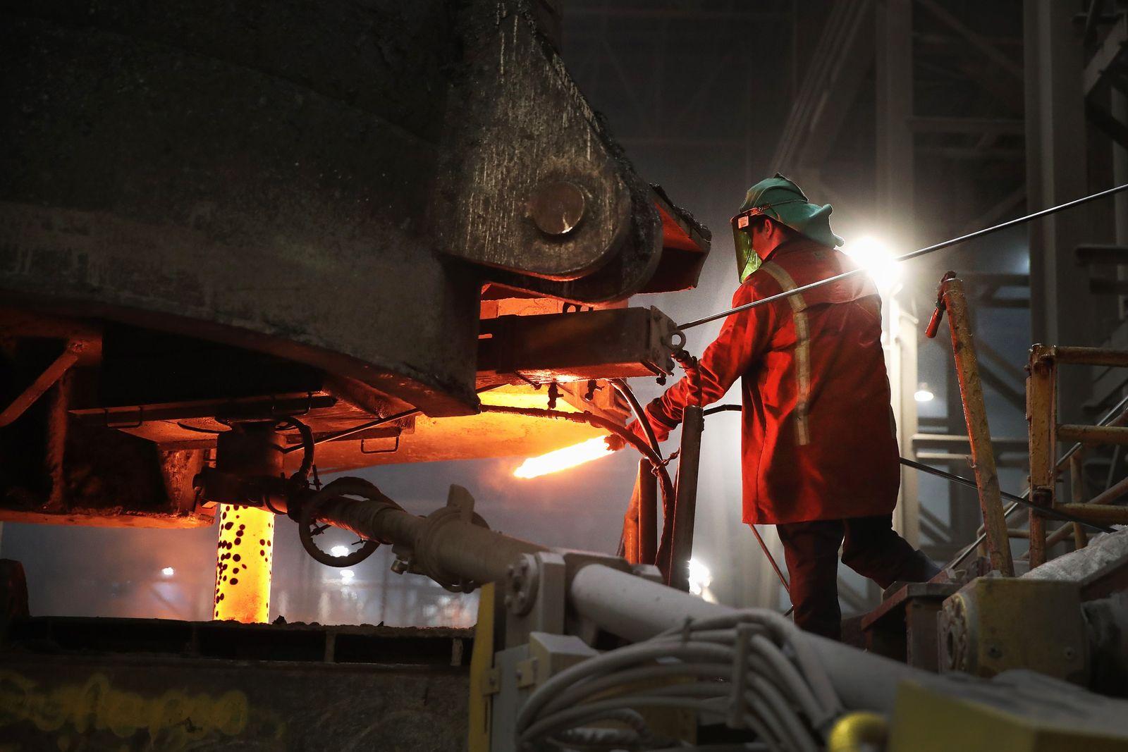 USA / Konjunktur / Wirtaschaft / Stahl / Stahlindustrie /