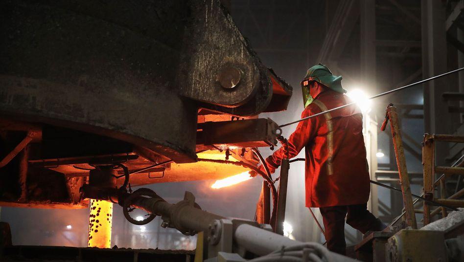 US-Stahlarbeiter