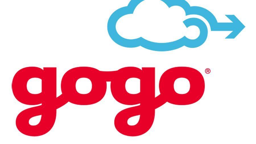 Gogo-Logo: Die Firma ermöglicht es, im Flugzeug ins Netz zu gehen