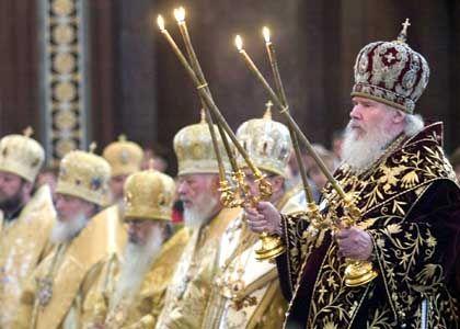 Oster-Feiern in der Russisch-Orthodoxen Kirche in Moskau: Ein Land mit einer anderen christlichen Tradition