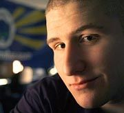 Ex-Rebell Shawn Fanning: Multimillionär, seit er Napster verkaufte - und damit Rollenmodell für die FastTrack-Gründer?