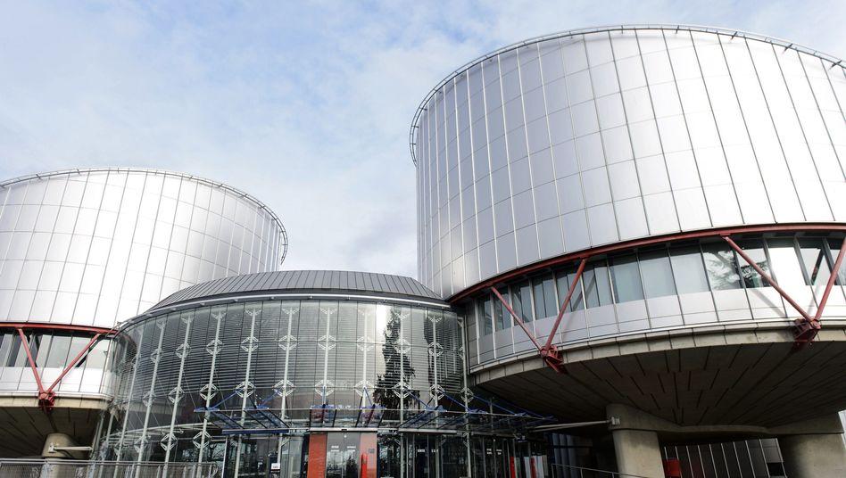 Europäischer Menschenrechtsgerichtshof in Straßburg