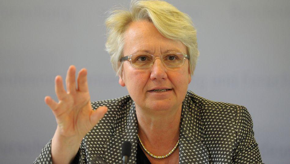 Bundesbildungsministerin Schavan (CDU): Bafög soll nicht regelmäßig steigen