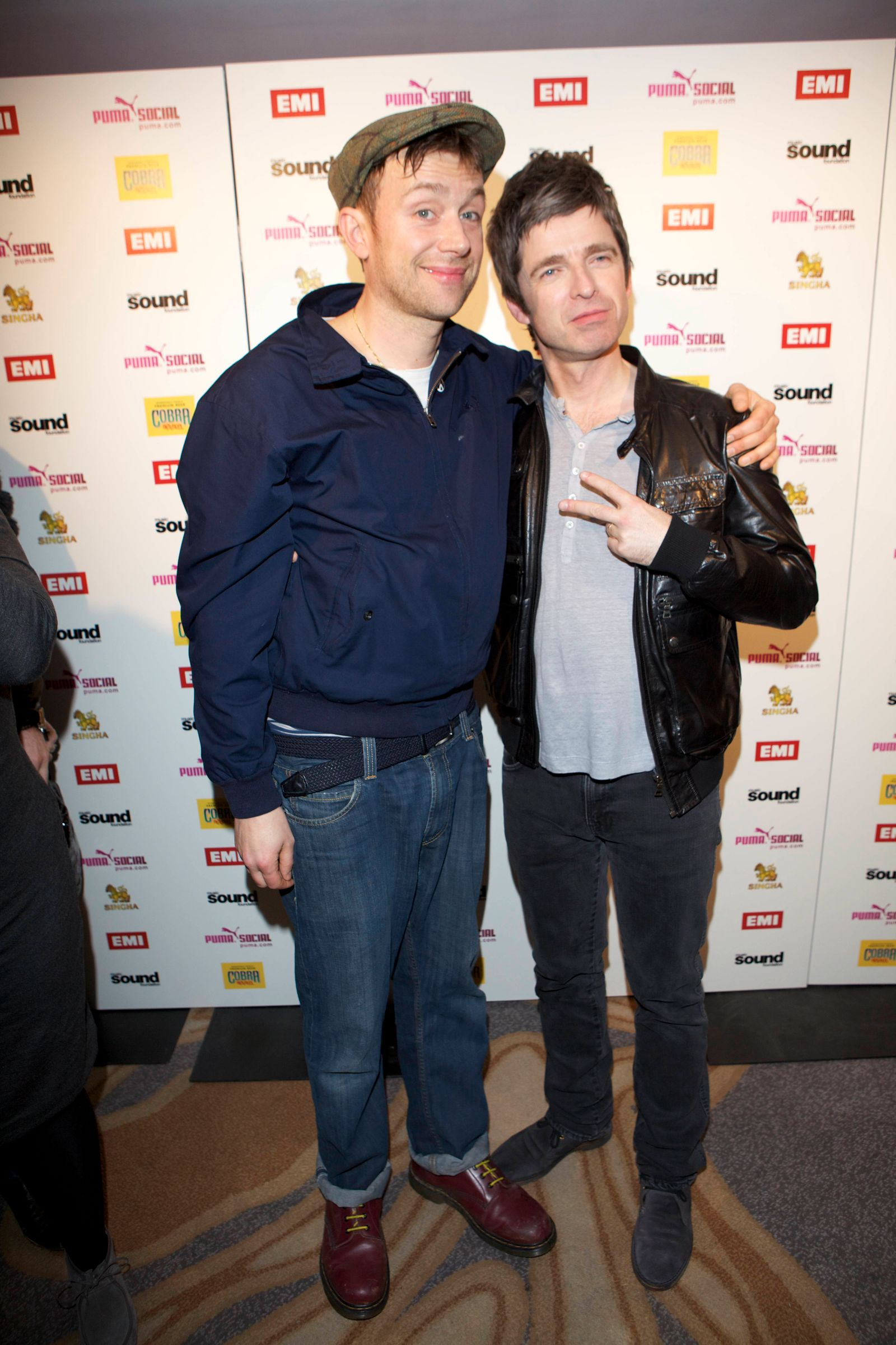 The BRIT Awards 2012 - EMI Aftershow Party