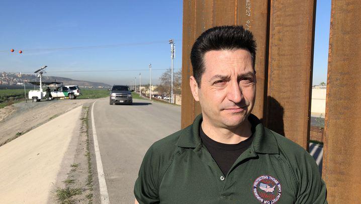 """Grenz-Reportage aus San Diego: """"Die Zäune bringen etwas"""""""