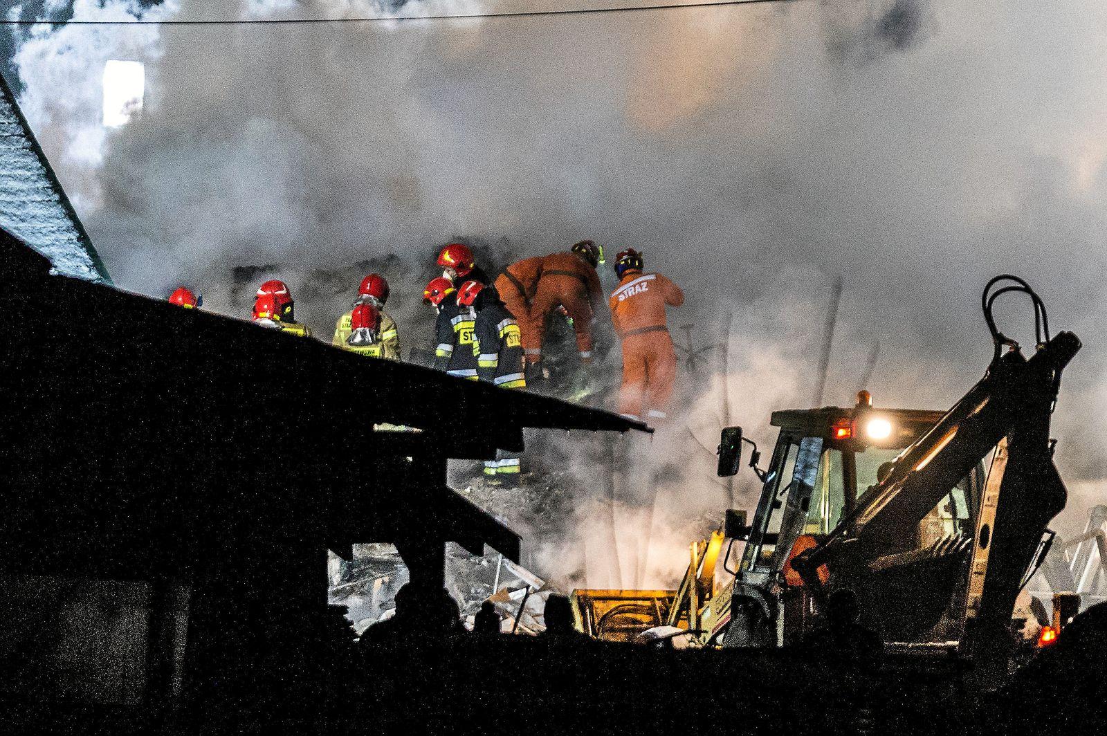 Explosion in Polen