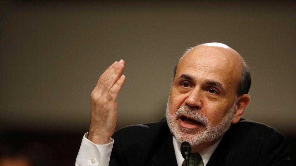 Fed-Chef Ben Bernanke: Dollar-Spritze für die Wirtschaft