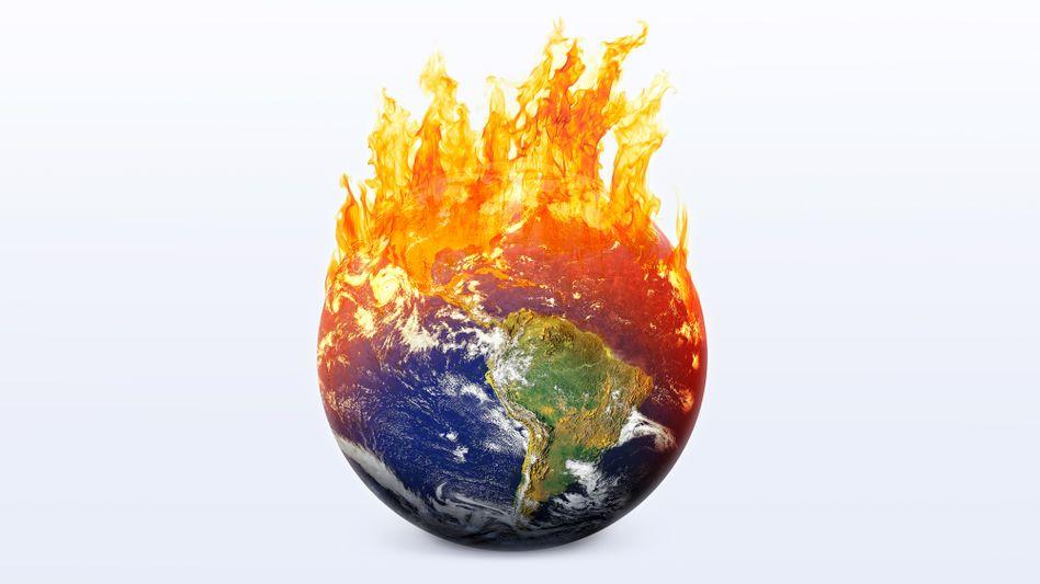 Symbolbild: Die Welt brennt