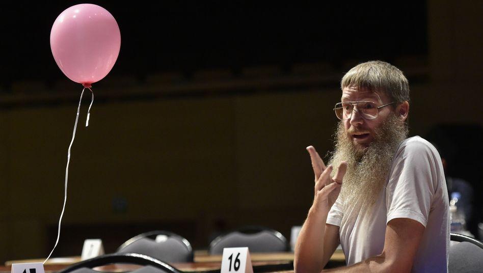 """Scrabble-Genie Nigel Richards: """"Er ist wie ein Computer mit einem langen Bart"""""""