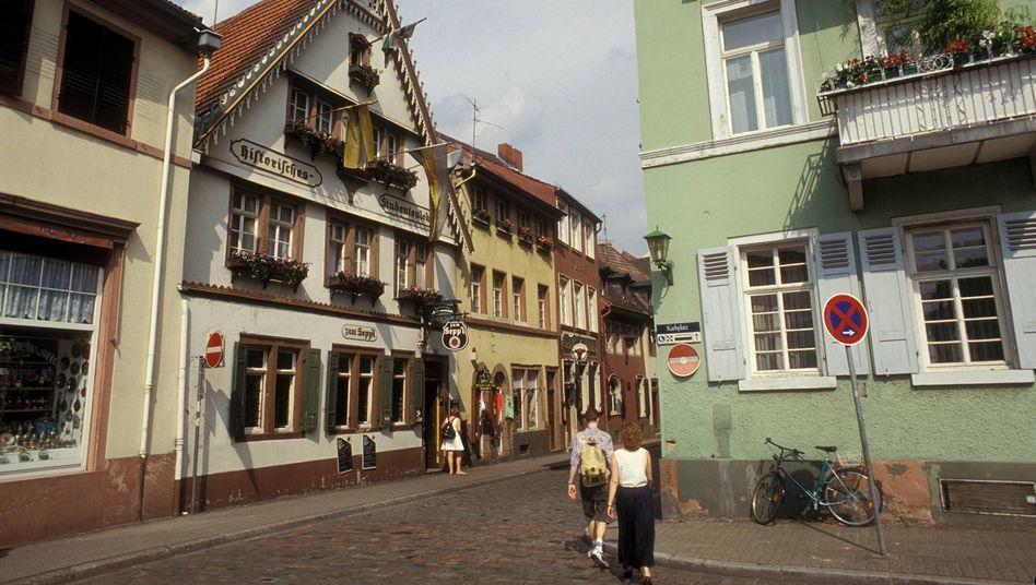 """Historisches Studentenlokal """"Zum Seppl"""" in Heidelberg"""