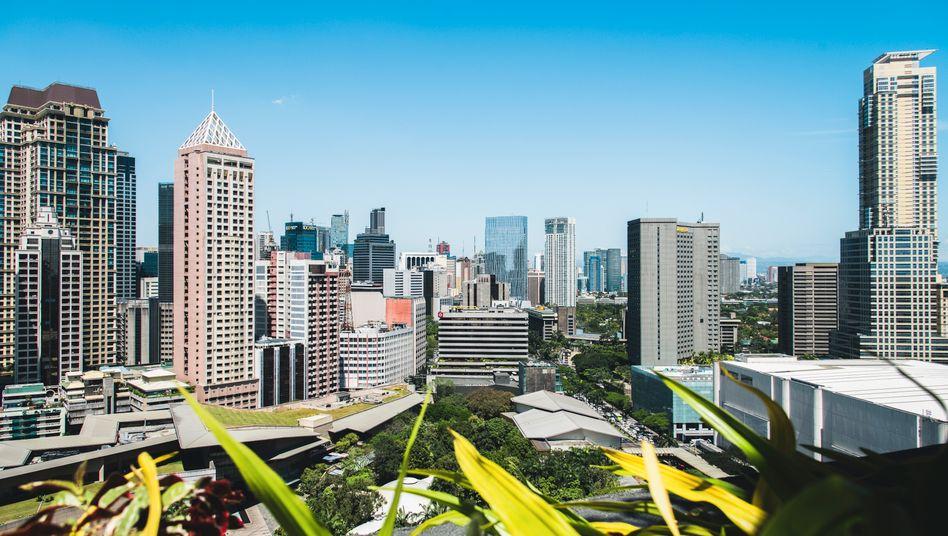 Finanzdistrikt von Manila