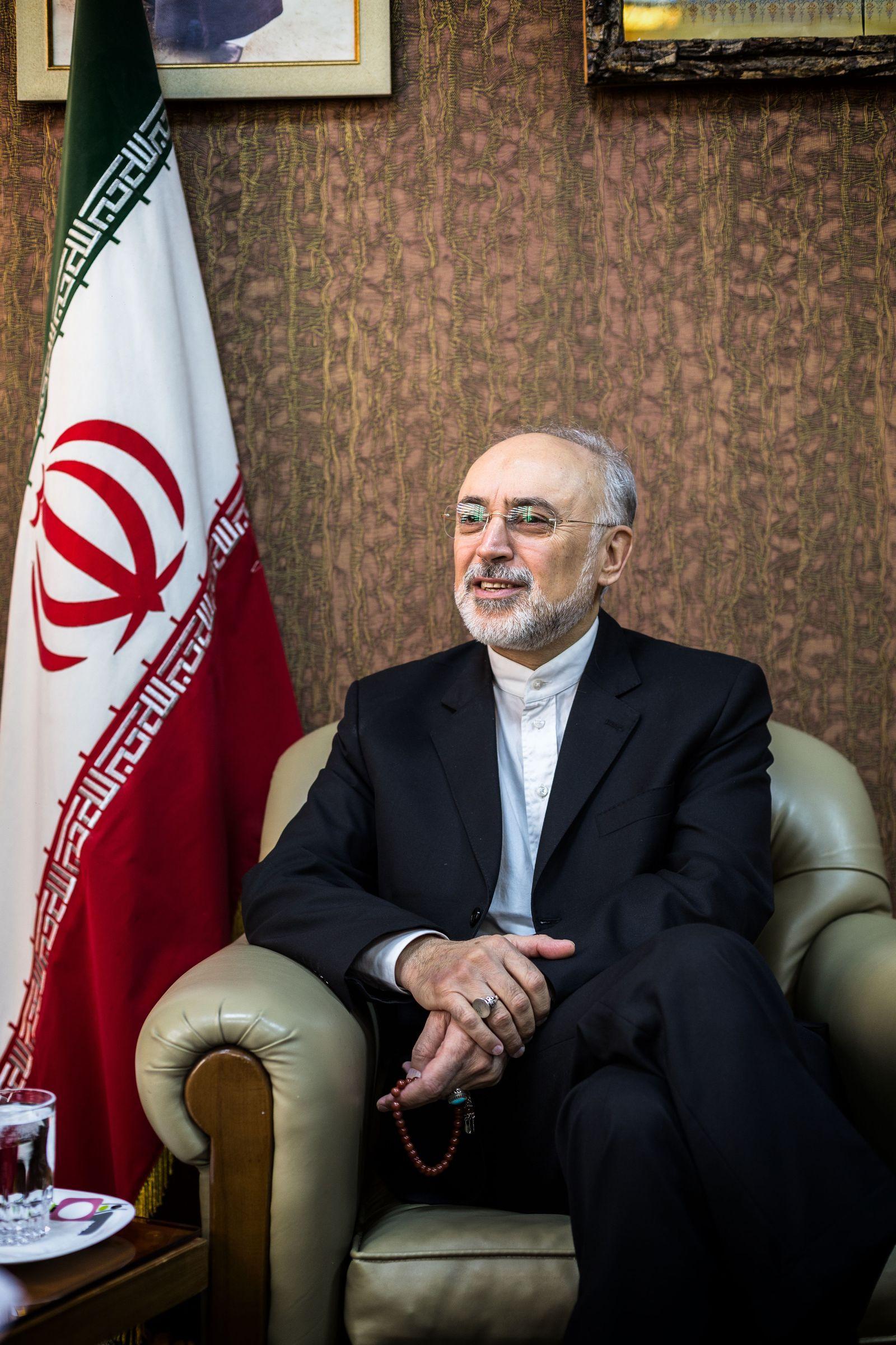 EINMALIGE VERWENDUNG SPIN SPIEGEL 37/2017 S. 106 Iran Nuclear Deal Salehi