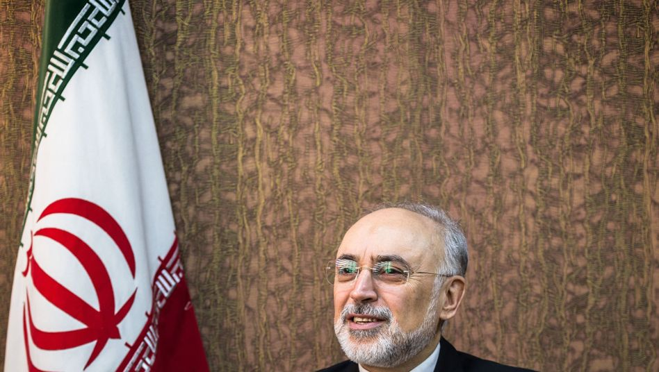 Ali Akbar Salehi, head of the Iranian atomic energy organization