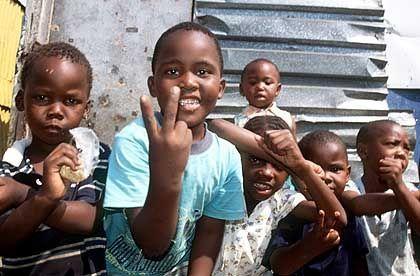 Township von Kapstadt: Lebensraum für zwei Millionen Menschen