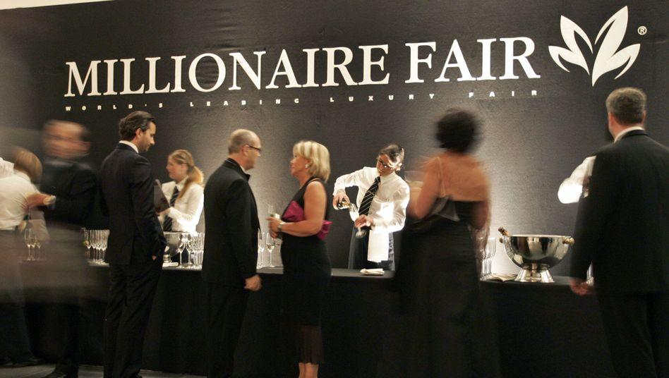 """Millionärsmesse in München (2008): """"Ich würde eine höhere Steuerbelastung akzeptieren"""""""
