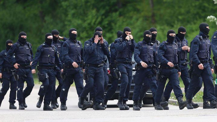 Razzia in Ellwangen: Zugriff nach Rückzug