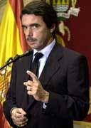 José María Aznar: Im Visier der Friedensfreunde