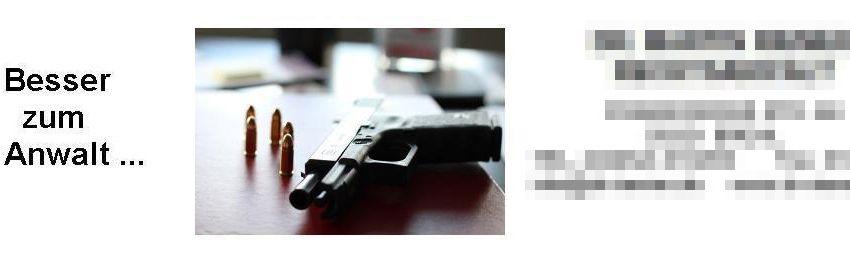 EINMALIGE VERWENDUNG KaSP Schockbilder Anwaltswerbung