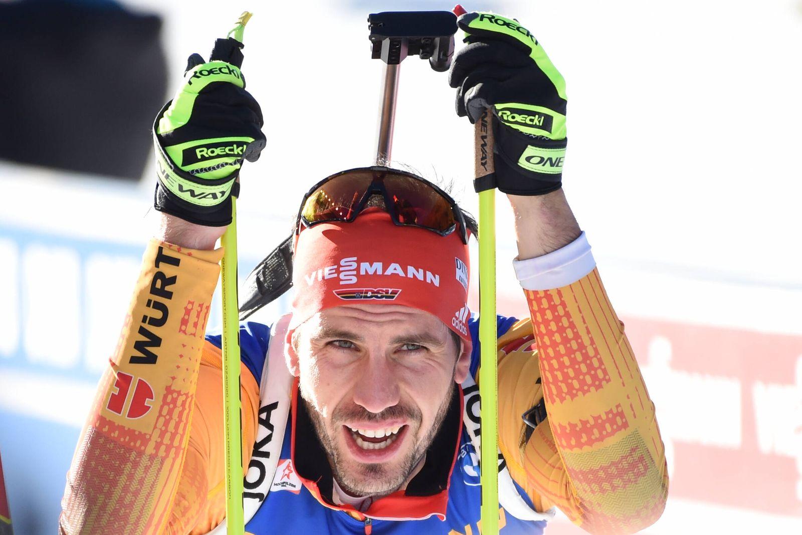 BIATHLON - PEIFFER Arnd (GER) beim BMW IBU World Cup Biathlon Hochfilzen 12,5km Verfolgung der Herren am 19.12.2020, Ös