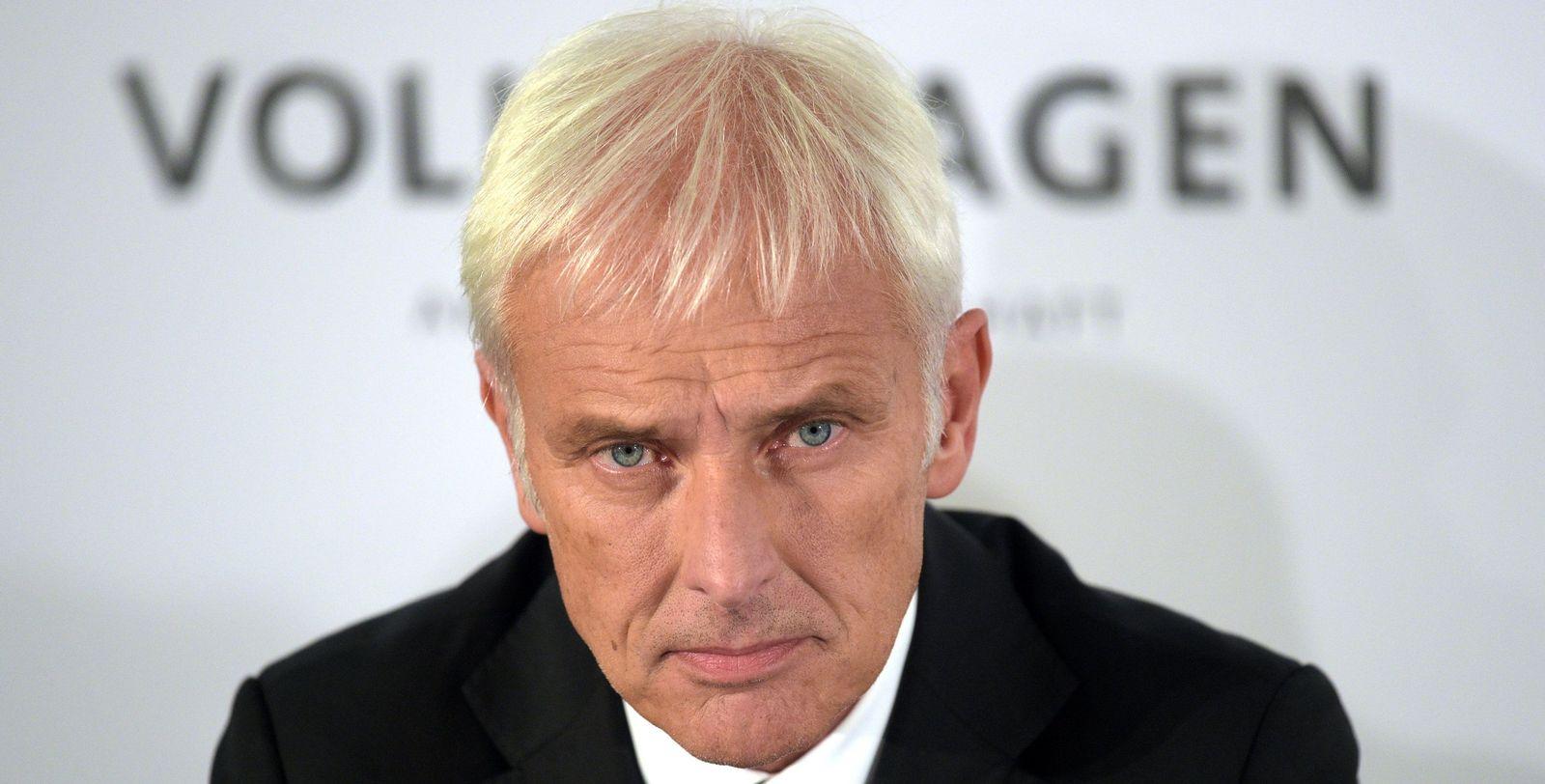 Volkswagen Matthias Müller