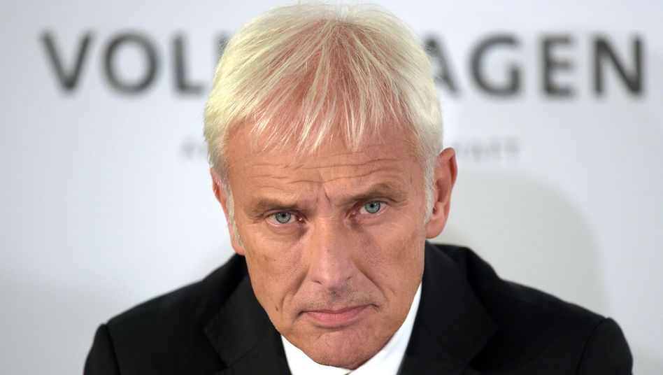 """VW-Chef Müller: """"Der Volkswagen-Konzern wird dafür einstehen"""""""