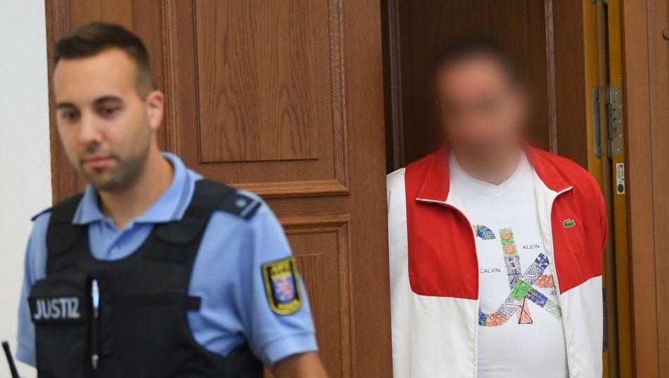 Angeklagter Nedzad A. im Landgericht Gießen (Archivfoto)