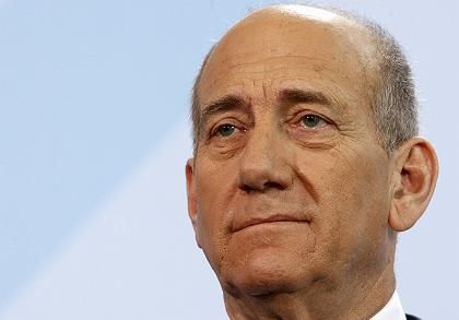 Olmert was speaking after a meeting with German Chancellor Angela Merkel.