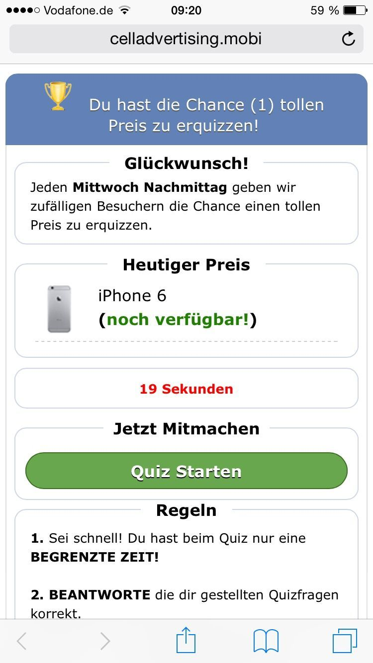 NUR ALS ZITAT Celladvertising.mobi/ Handyspam