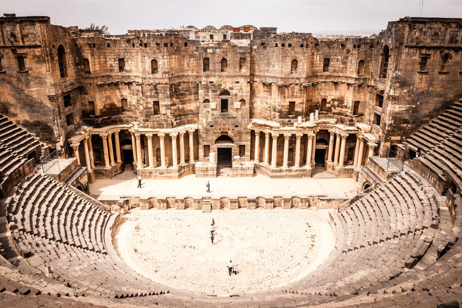 EINMALIGE VERWENDUNG Syrien / Bosra