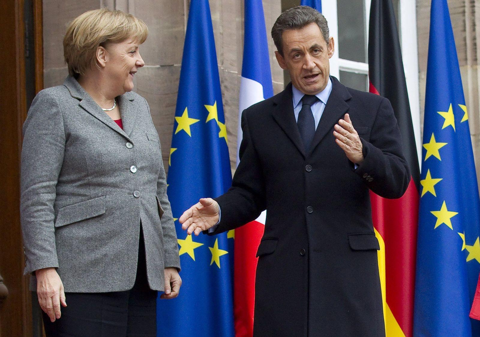 Sarkozy/ Merkel