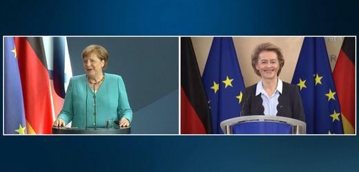 Angela Merkel und Ursula von der Leyen zur deutschen EU-Doppelspitze