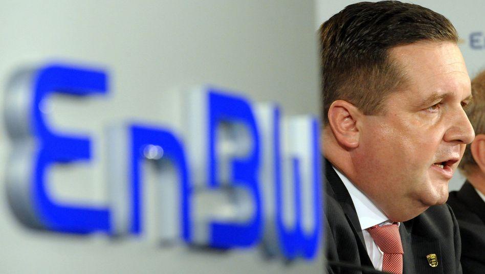 Ministerpräsident Mappus: In Bedrängnis wegen EnBW-Deal