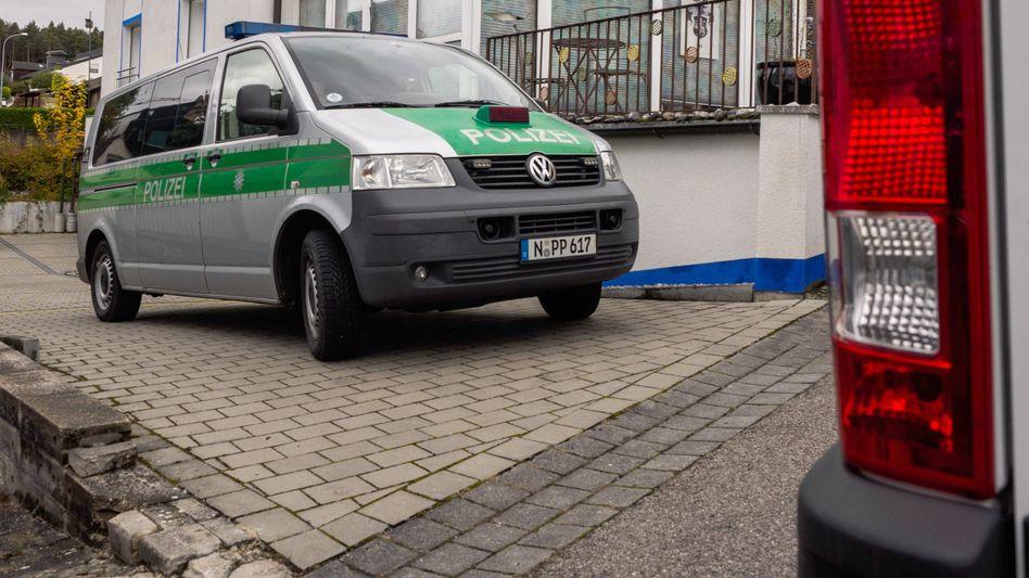 """Polizeieinsatz am Haus von """"Reichsbürger"""" Wolfgang P."""