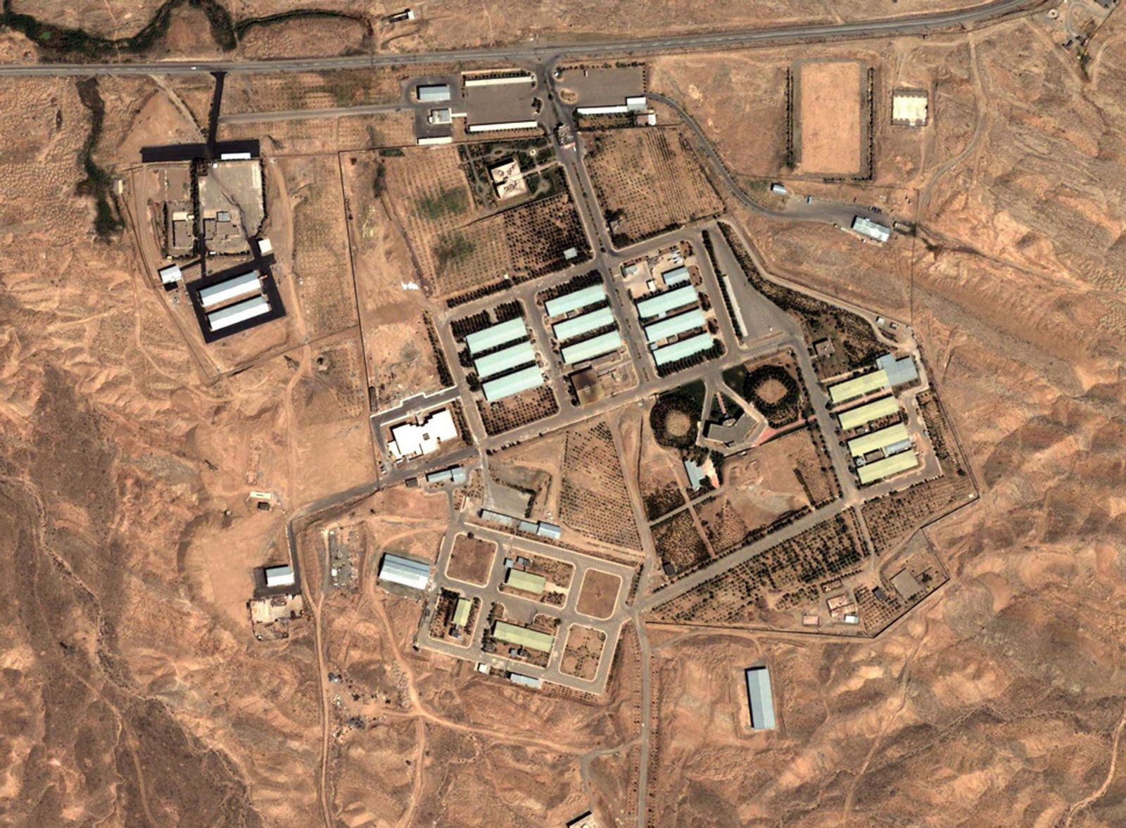 Parchin / Iran/ Satellitenbild