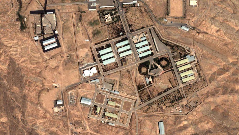 Satellitenaufnahme der Militäranlage Parchin (Archivbild): Gebäude abgerissen