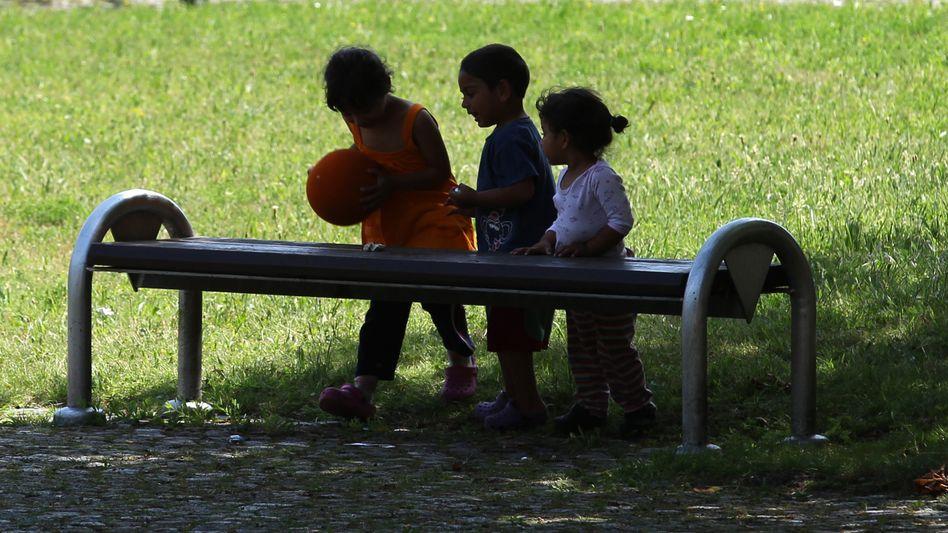 Kinder in einer Flüchtlingsunterkunft in Hamm: Viel Belastendes erlebt