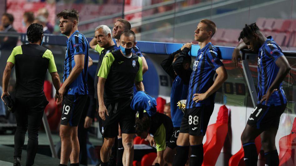 Nur wenige Minuten fehlten Atalanta zum größten Erfolg der Klubgeschichte