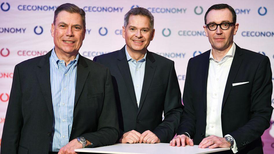 Scheidende Ceconomy-Manager Pieter Haas (l.) und Mark Frese