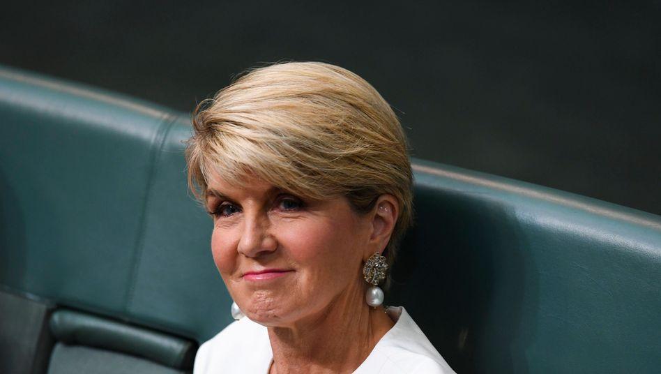 Frühere australische Außenministerin Julie Bishop