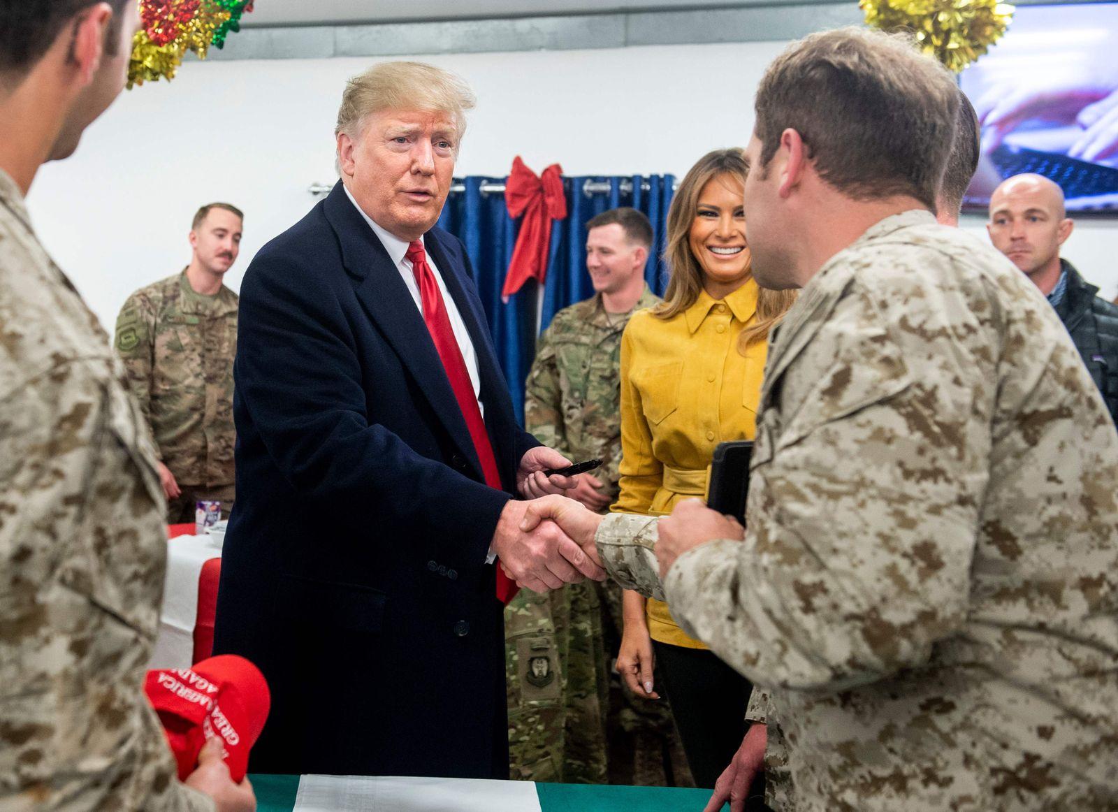 Trump Irak Besuch