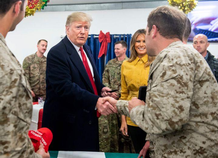 Trump im Irak