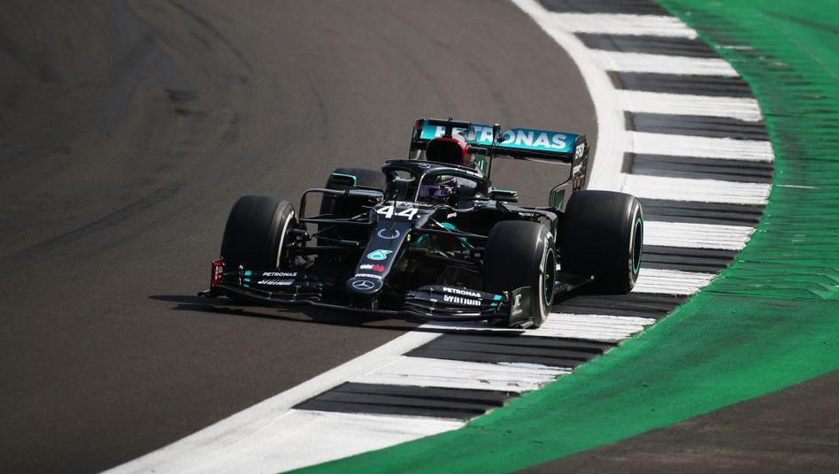 Lewis Hamilton kann im Qualifying bald den Partymodus nicht mehr nutzen