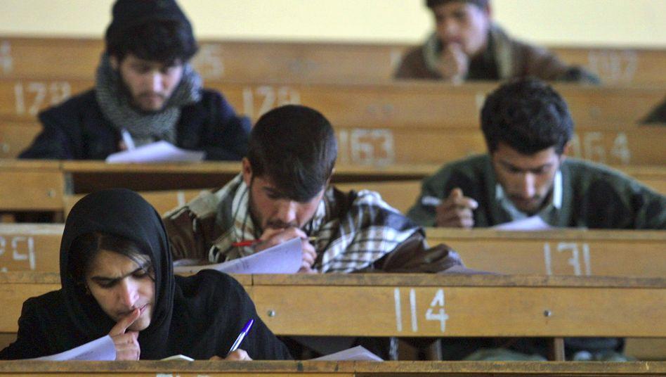 Studenten in Kabul: Der Bildungshunger ist groß