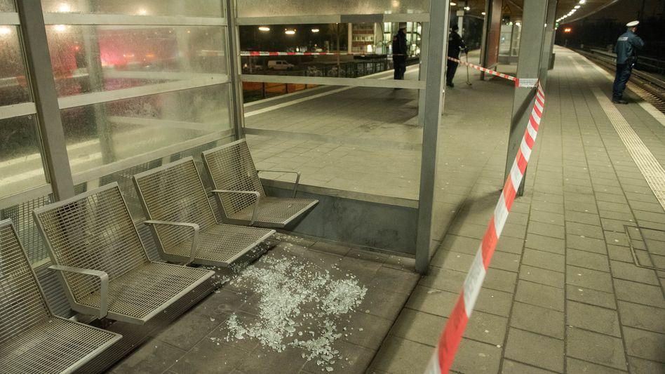 Tatort am S-Bahnhof Veddel
