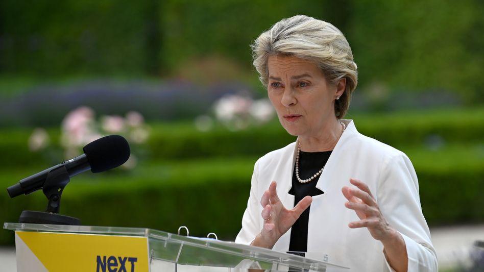 Ursula von der Leyen: »Keine Kompromisse«