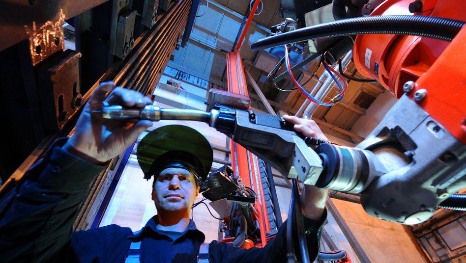 Roboterbau in Bischleben: Erholung in der Elektrotechnik