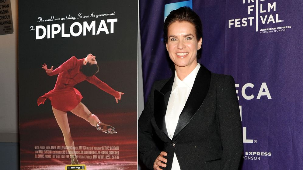 "Kati-Witt-Doku ""The Diplomat"": Vergangenheit überstrahlt"