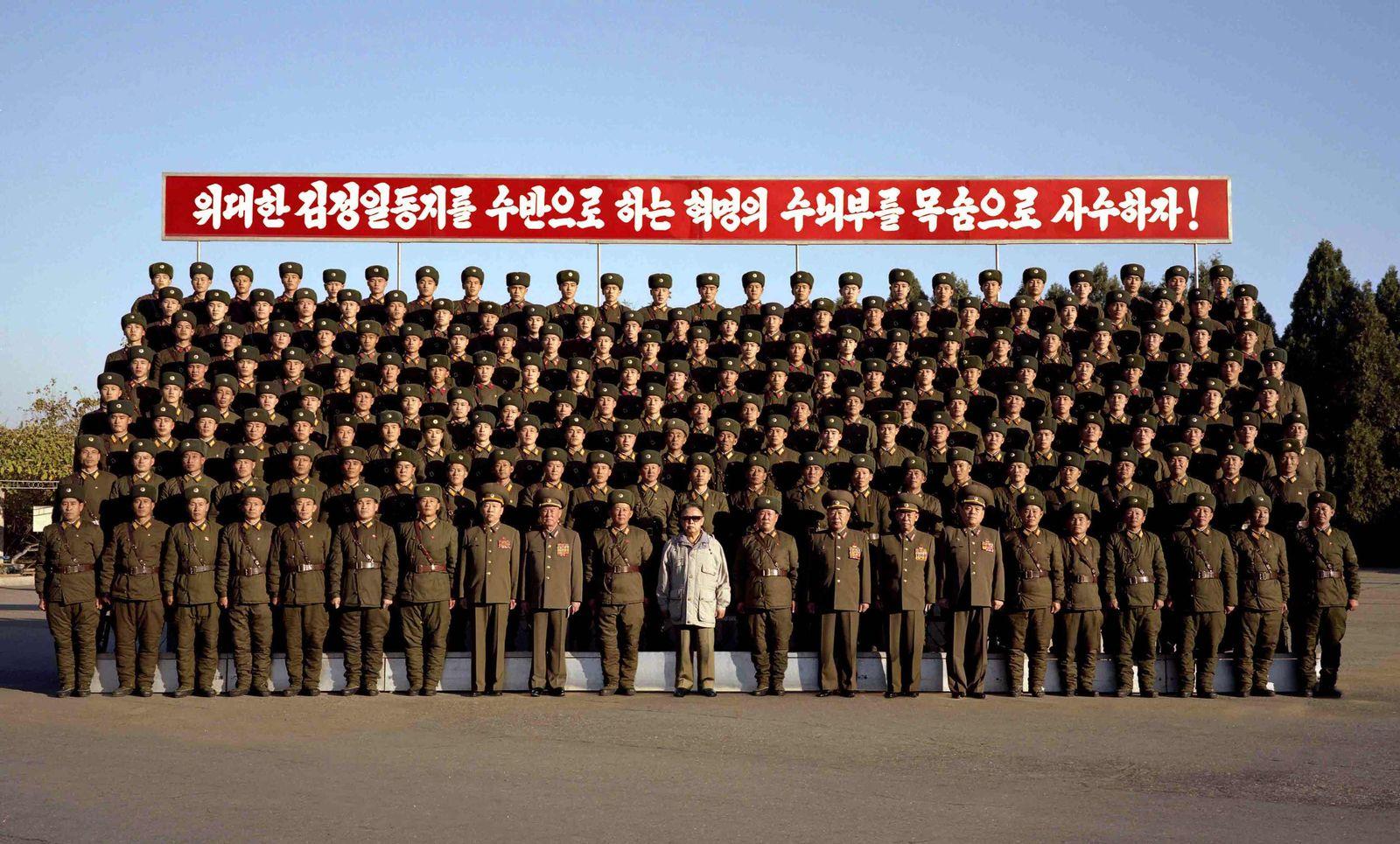 Nordkorea / Kim Jong-Il und Generäle